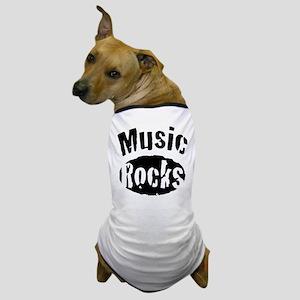Music Rocks Dog T-Shirt