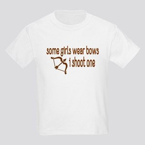 I Shoot Bows Kids Light T-Shirt