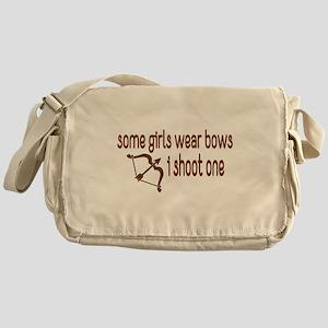 I Shoot Bows Messenger Bag