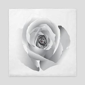 White Rose Queen Duvet