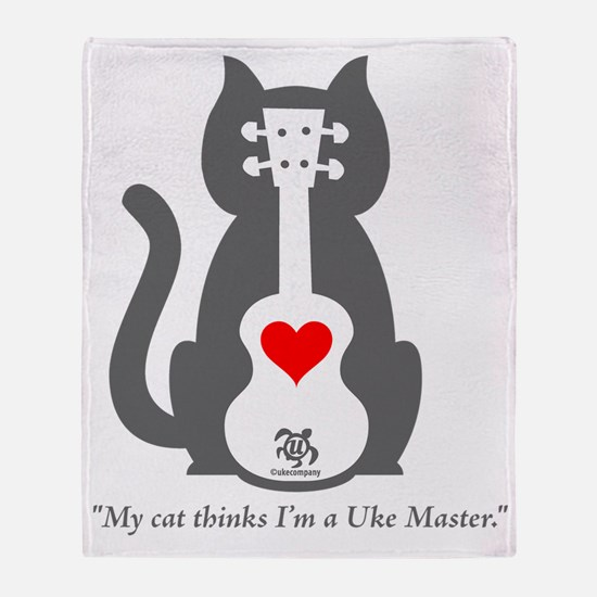 Cat Uke Throw Blanket