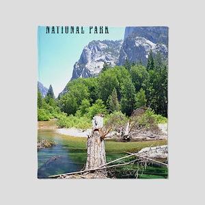 Kings Canyon National Park Tall Throw Blanket