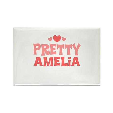 Amelia Rectangle Magnet