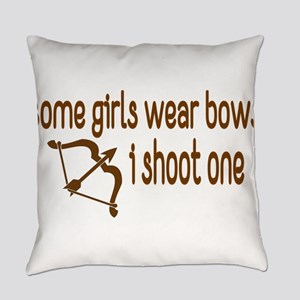 I Shoot Bows Everyday Pillow