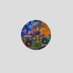 Apo Rainbow Garden Mini Button
