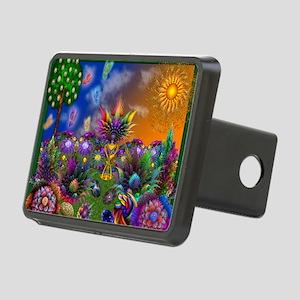 Apo Rainbow Garden Rectangular Hitch Cover
