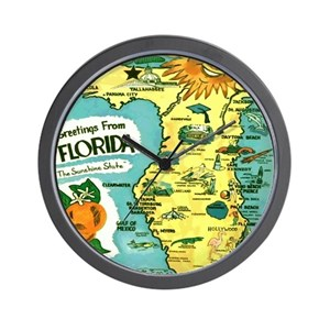 Map wall clocks cafepress gumiabroncs Gallery