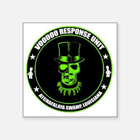"voodoo response unit Square Sticker 3"" x 3"""