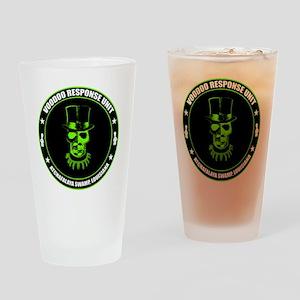 voodoo response unit Drinking Glass
