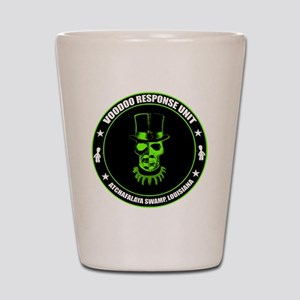 voodoo response unit Shot Glass