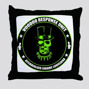 voodoo response unit Throw Pillow