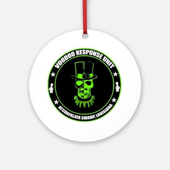 voodoo response unit Round Ornament