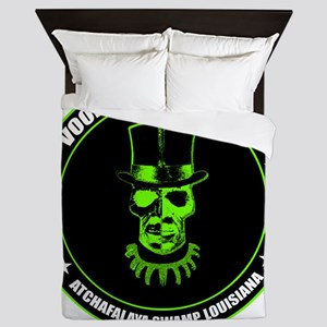 voodoo response unit Queen Duvet
