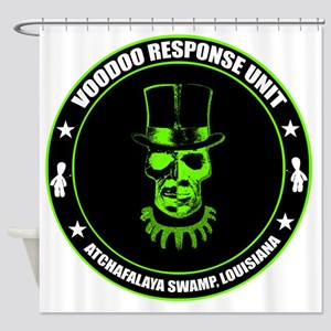 voodoo response unit Shower Curtain
