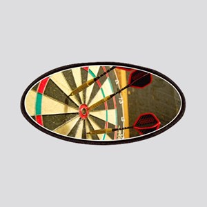 Darts in a Dartboard Patches