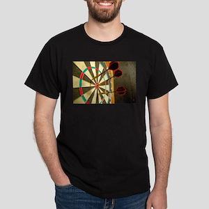 Darts in a Dartboard T-Shirt