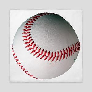 Leather Baseball Queen Duvet
