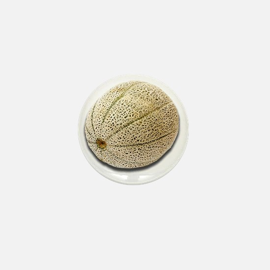 Cantaloupe Mini Button