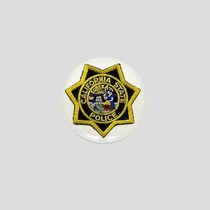California State Police Badge Mini Button