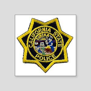 """California State Police Bad Square Sticker 3"""" x 3"""""""