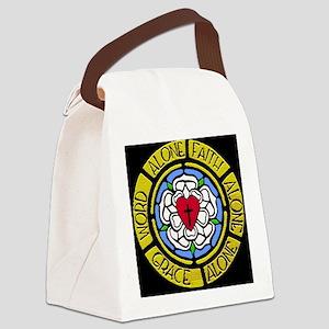 Grace Faith Word Car Magnet Canvas Lunch Bag