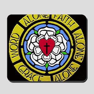 Grace Faith Word Car Magnet Mousepad