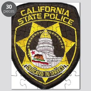 California State Police Patch Puzzle