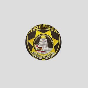 California State Police Patch Mini Button