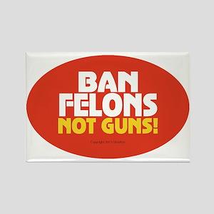 Pro Gun Ownership Sticker Rectangle Magnet