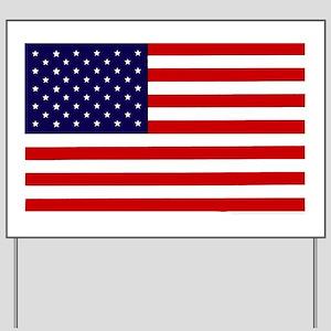 American Flag Car magnet Yard Sign