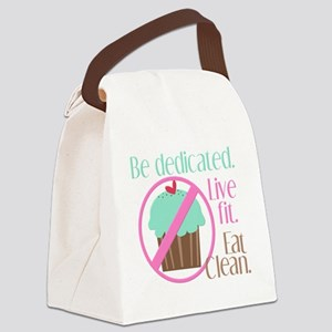 No Cupcakes Allowed! Canvas Lunch Bag
