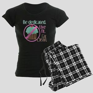 No Cupcakes Allowed! Women's Dark Pajamas