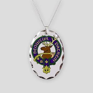 MacDonald of Glenbogle Family Necklace Oval Charm