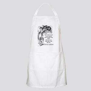 Alice in Wonderland Cat Apron
