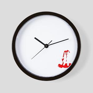 How To Kill A Zombie Wall Clock