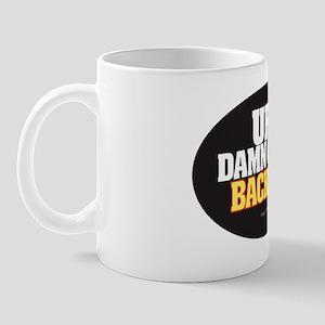 Anti-Tailgate Sticker Mug