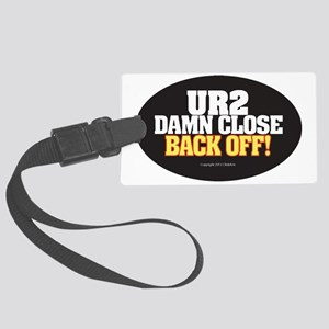 Anti-Tailgate Sticker Large Luggage Tag