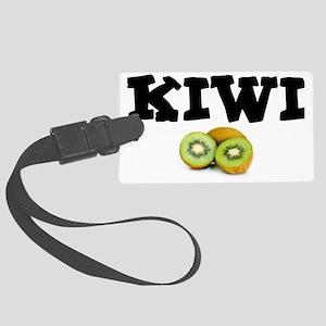 KIWI FRUIT - THONG! Large Luggage Tag