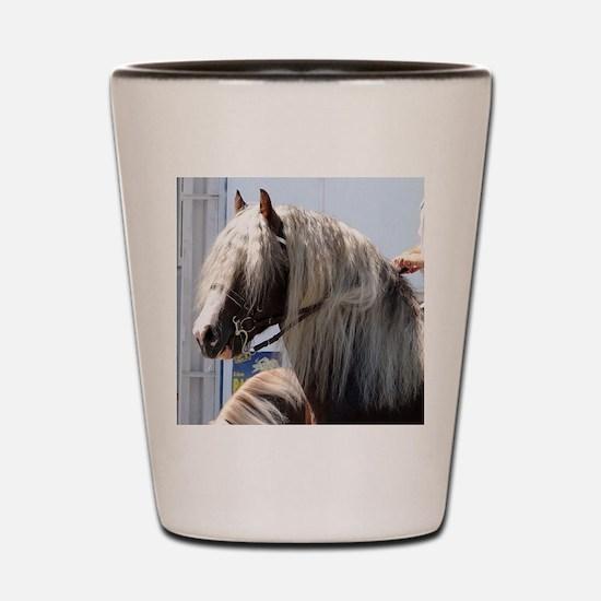 BLACK FOREST HORSE (Schwarz Waelder-Kal Shot Glass