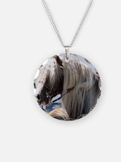 BLACK FOREST HORSE (Schwarz  Necklace