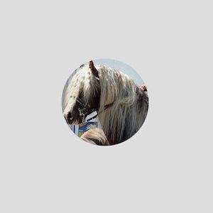 BLACK FOREST HORSE (Schwarz Waelder-Ka Mini Button