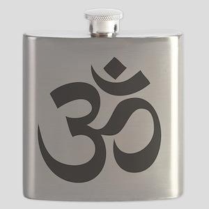 Om Symbol Flask