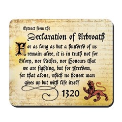 The Declaration of Arbroath Mouse Mat (Pad)