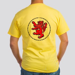 The Declaration of Arbroath Yellow T-Shirt