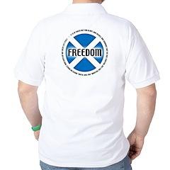 The Declaration of Arbroath Golf Shirt