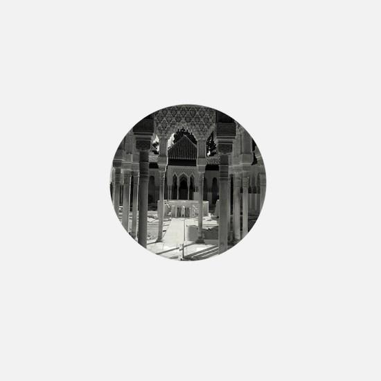 The Alhambra Mini Button