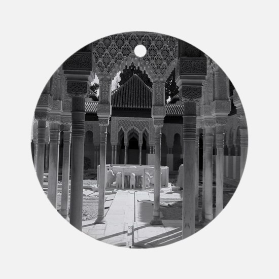 The Alhambra Round Ornament