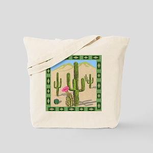 desert cactus shower curtain Tote Bag