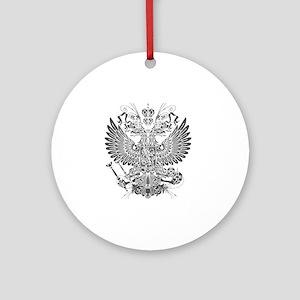 Byzantine Eagle Round Ornament