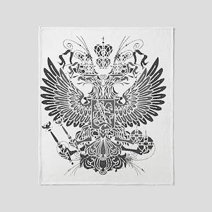 Byzantine Eagle Throw Blanket